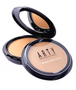 ARTY PROFESSIONAL UV PROTECTIVE POWDER FOUNDATION BROAD SPECTRUM SPF50